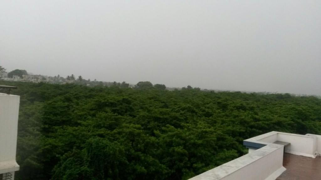 First rains of 2015 Monsoon
