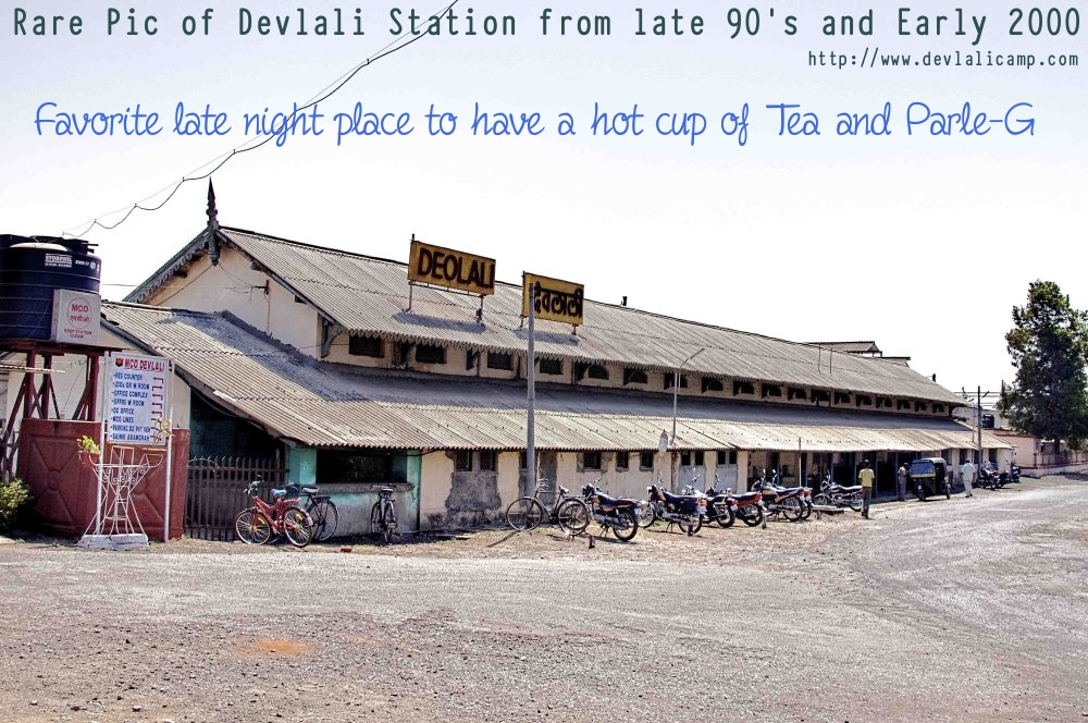 Devlali Camp Railway Station Old Pic